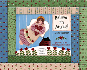 The Believe In Angels Calendar