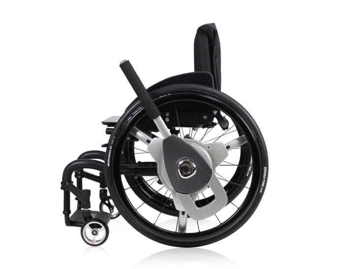 Nudrive Lever Drive Propulsion System For Manual Wheelchairs