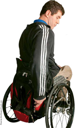 options in wheelchair bags