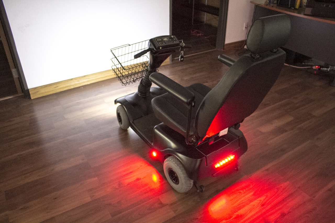 Light Kit for Mobility Scooters and Power Wheelchairs