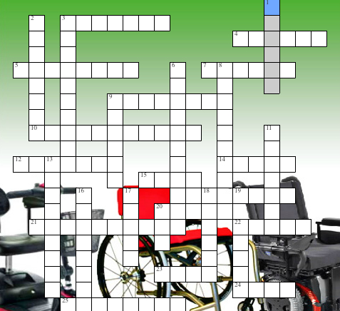 Puzzled on wheelchairs crossword puzzle